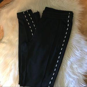 Pink Victoria's Secret jogger pants